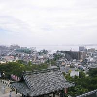 三井寺ー琵琶湖